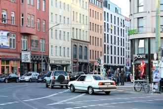 Повседневная жизнь в центре Берлина, Германия