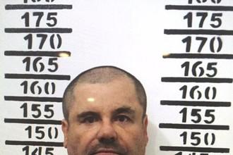 Наркобарон Хоакин «Эль Чапо» Гусман в мексиканской тюрьме, 8 января 2017 года