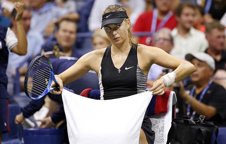 Шарапова объяснила причины вылета с US Open