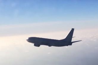 Российский Су-27 перехватил самолет ВВС США над Балтикой