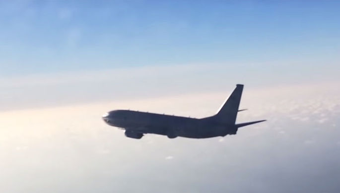 Су-27 перехватил самолеты-разведчики США и Швеции у границ РФ