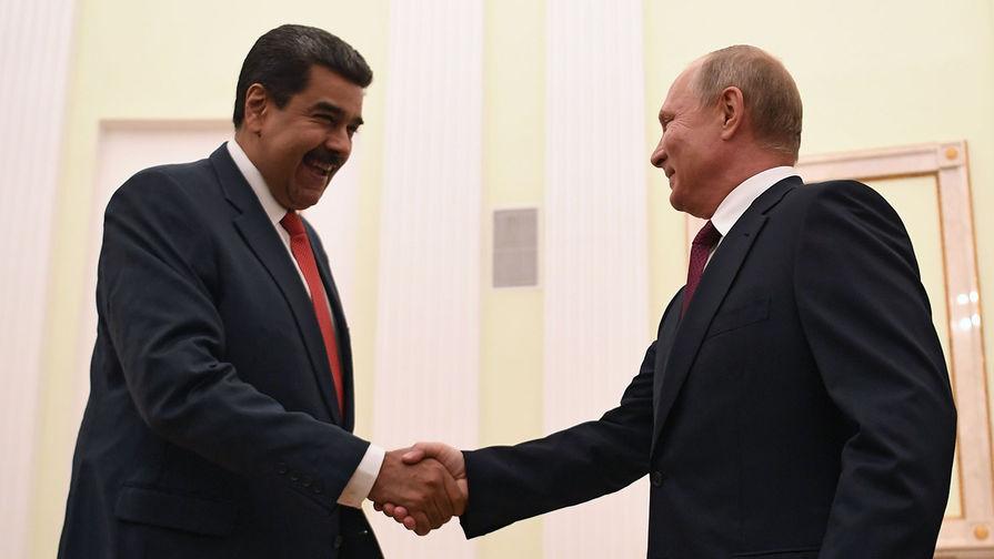 Мадуро опубликовал ролик, где он гуляет по Красной площади