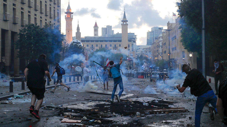 Число пострадавших в ходе столкновений в Бейруте превысило 170 ...
