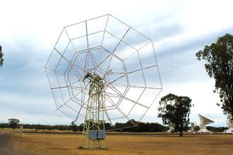 Старый радиогелиограф обсерватории ATCA (Australia Telescope Compact Array), Наррабрай, Австралия, 30 сентября 2017