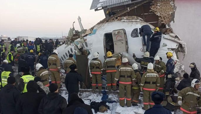 Погода и ошибки: почему самолет разбился под Алма-Атой