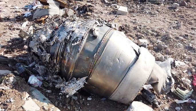Последствия крушения самолета Boeing 737-800 в Тегеране, 8 января 2020 года