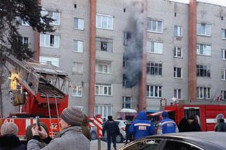 Последствия пожара на улице Кирова в Раменском, 1 марта 2018 года