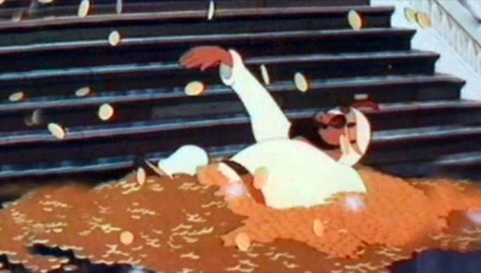 Кадр из мультфильма «Золотая антилопа»