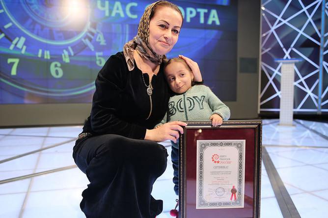 13-летняя Анжела Ташуева и ее мама Румани, 20 марта 2019 года