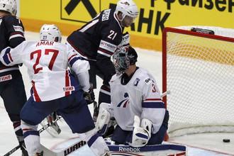 Американцы забили французам семь шайб