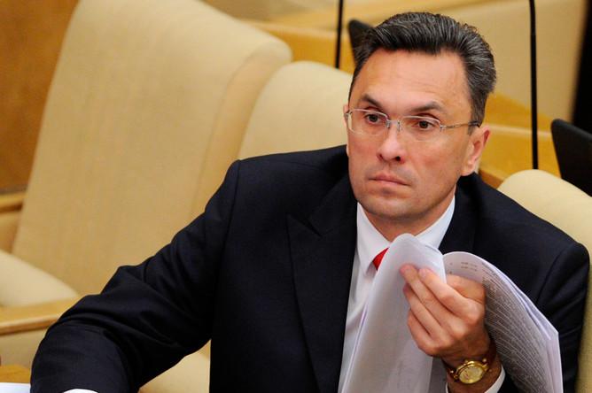 Депутат от КПРФ Владимир Бессонов