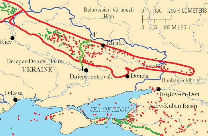 Залежи сланцевого газа на Украине