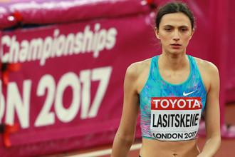 Чемпионка мира — 2017 в прыжках в высоту Мария Ласицкене