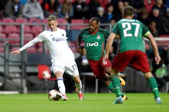 «Локомотив» сыграл вничью с «Копенгагеном»