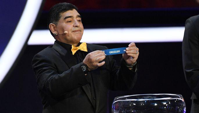 Уругвай стал первым соперником сборной России на чемпионате мира