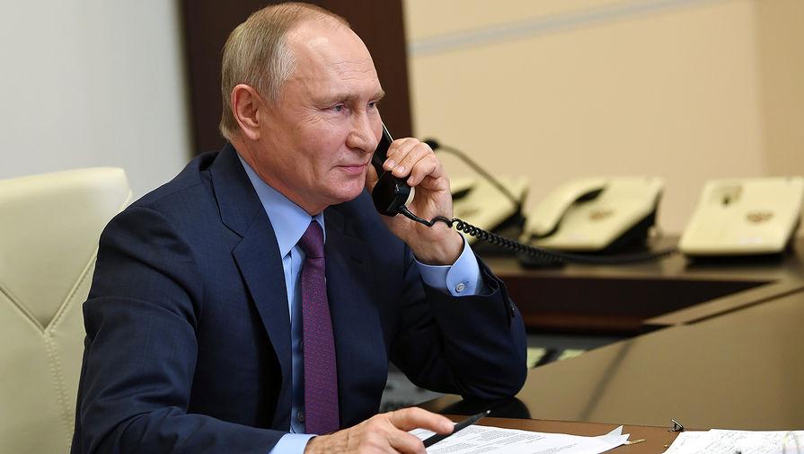 Путин РѕР±СЃСѓРґРёР» СЃРїСЂРµРґСЃРµРґР°С'елем Евросовета «Крымскую платформу»