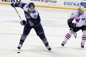 Сергей Мозякин забросил 37-ю шайбу в регулярном чемпионате КХЛ