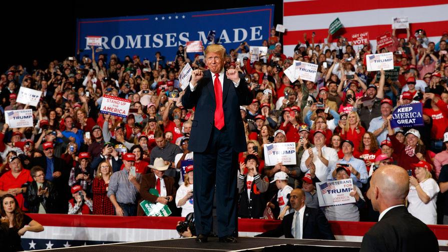 Трамп официально объявил о намерении баллотироваться на второй срок