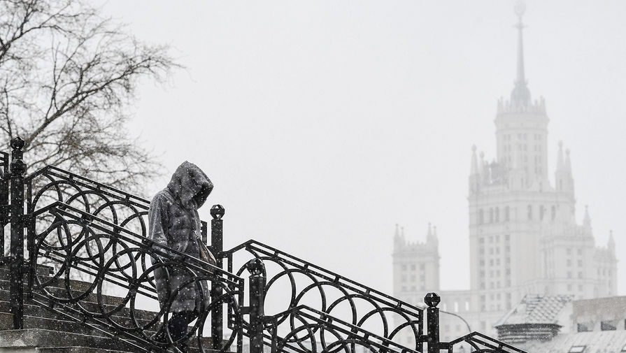 За ночь в Москве выпало почти 20% месячной нормы осадков