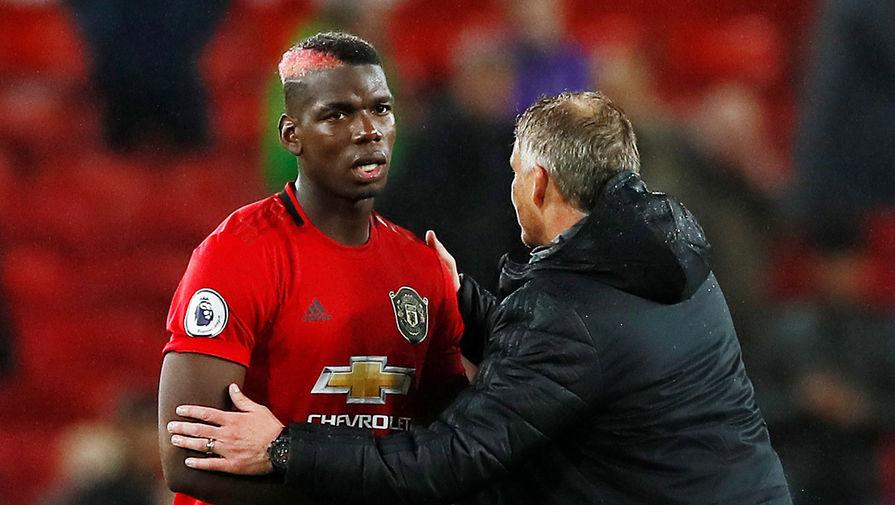 Полузащитник «Манчестер Юнайтед» Поль Погба