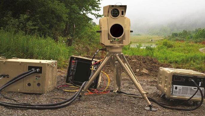 Система компактного лазерного оружия от компании Boeing