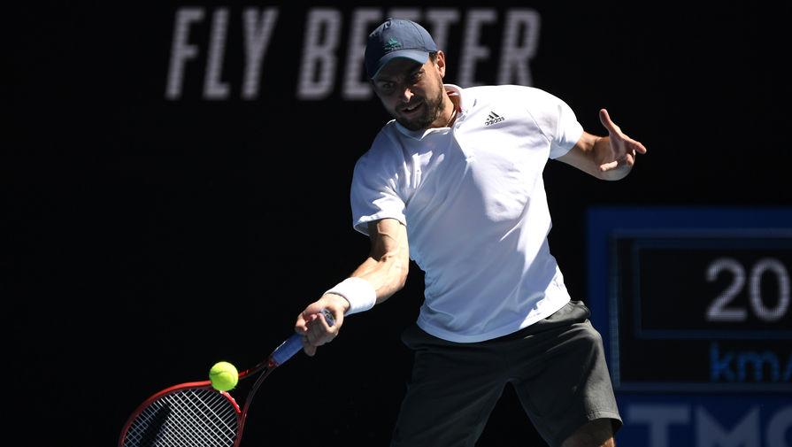 Российский теннисист Аслан Карацев