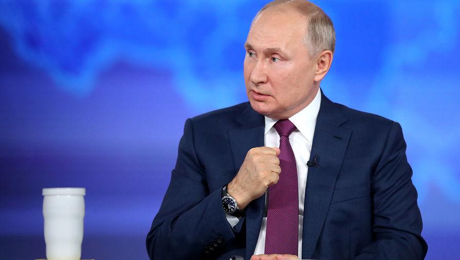 Путин прокомментировал нежелание Запада признавать Крым российским