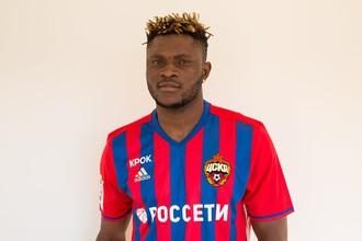 Аарон Оланаре в форме ЦСКА