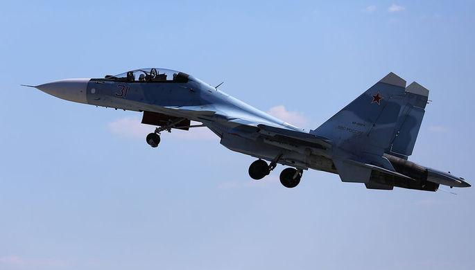 3 мая 2018 года многоцелевой истребитель Су-30СМ потерпел крушение после взлета с аэродрома Хмеймим...