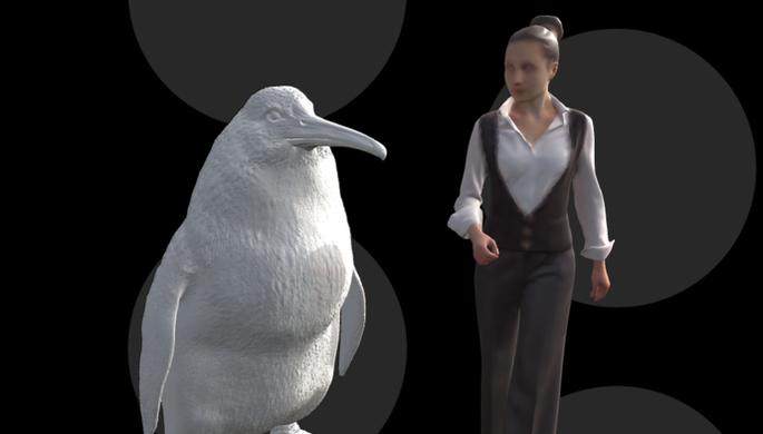 В Новой Зеландии найдены останки пингвина ростом с человека