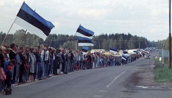 Акция «Балтийский путь» 23 августа 1989 года