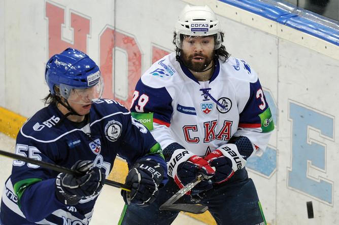 Нападающий СКА Максим Рыбин получил трехмесячную дисквалификацию