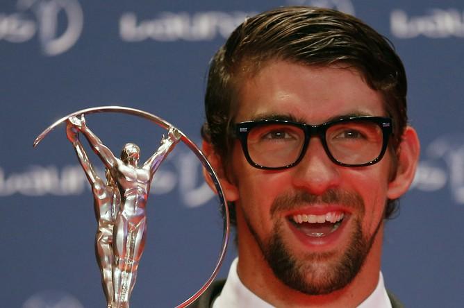 Специальную награду за выдающиеся достижения в спорте получил завершивший карьеру знаменитый пловец Майкл Фелпс