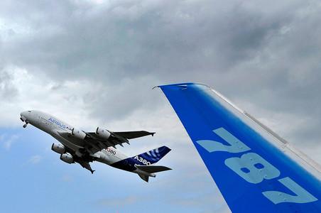 � 2013 ���� Airbus �������� ���������� �� �������� 1619 ���������, ������� �������� ���������� — Boeing