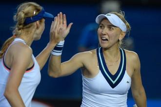 Елена Веснина почтила своим присутствием второй раунд теннисного турнира WTA в Таиланде