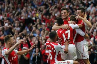 «Арсенал», завоевав Суперкубок Англии, готовится покорять Лигу чемпионов