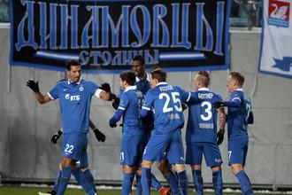 Динамовцы в 2014 году не проиграли ни одного из 10 матчей в Лиге Европы, выиграв при этом семь последних