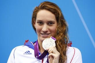 Камиль Мюффа с одной из своих олимпийских медалей Лондона