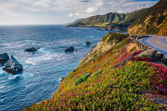 Pacific Coast Highway в Калифорнии, США