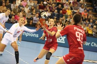 Сборная России по гандболу победила Черногорию