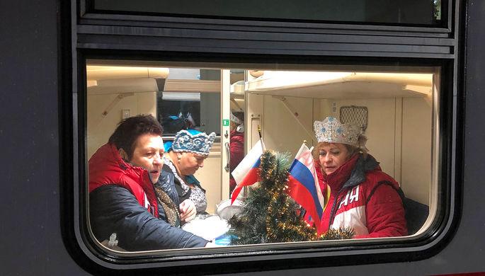 «В чистилище»: «Миротворец» добрался до пассажиров поезда в Крым
