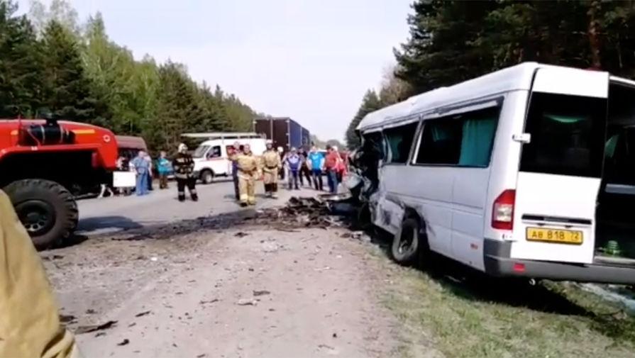 Названа причина ДТП с автобусом в Курганской области