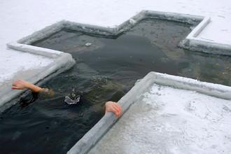 Крещенские купания в Ростове, 2009 год