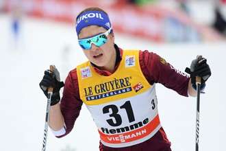 Лыжница Мария Гущина