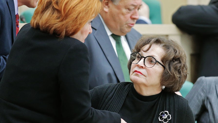 Сенатор Екатерина Лахова