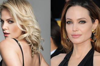 Шарлиз Терон и Анджелина Джоли