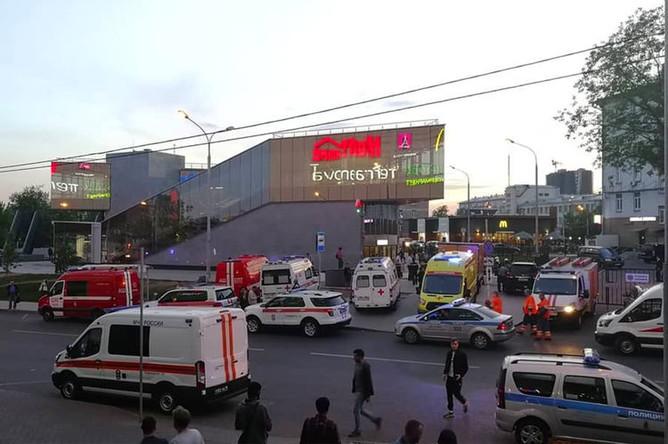 Ситуация в у станции метро «Хорошёво», 21 мая 2019 года