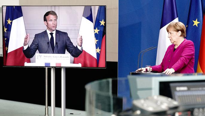 «Чрезвычайные меры»: как Макрон и Меркель будут спасать ЕС