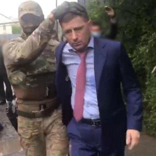 Опубликовано видео задержания губернатора Хабаровского края Фургала