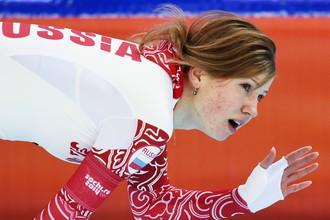 Ольга Фаткулина на Олимпиаде в Сочи